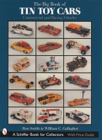 TIN TOY CARS THE BIG BOOK OF