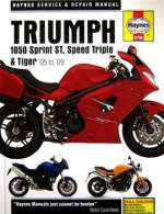 TRIUMPH 1050 SPRINT ST, SPEED TRIPLE & TIGER (05 - 09) (4796)