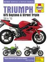 TRIUMPH 675 DAYTONA & STREET TRIPLE (06 - 10) (4876)