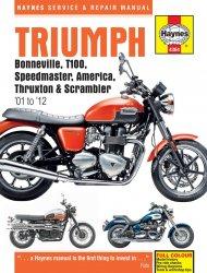 TRIUMPH BONNEVILLE, T100, SPEEDMASTER, AMERICA, THRUXTON & SCRAMBLER '01 TO '12 (4364)