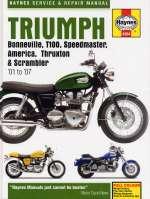 TRIUMPH BONNEVILLE T100 SPEEDMASTER AMERICA THRUXTON & SCRAMBLER (4364)