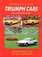 TRIUMPH CARS THE COMPLETE STORY