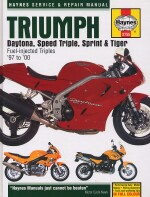 TRIUMPH DAYTONA, SPEED TRIPLE, SPRINT & TIGER '97 TO '00  (3755)