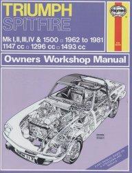 TRIUMPH SPITFIRE MK I, II, III, IV & 1500 - 1962 TO 1981 (0113)