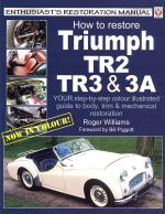 TRIUMPH TR2 TR3 & 3A HOW TO RESTORE