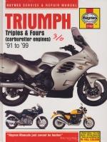 TRIUMPH TRIPLES & FOURS (CARBURETTORS ENGINES) '91 TO '99 (2162)