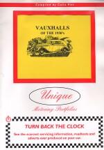 VAUXHALLS OF THE 1930'S