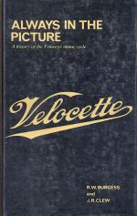 VELOCETTE ALWAYS IN THE PICTURE
