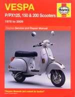 VESPA P/PX 125 150 & 200 SCOOTERS (0707)