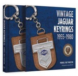 VINTAGE JAGUAR KEYRINGS 1955-1980