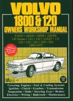 VOLVO 1800 & 120 1960-1973 OWNERS WORKSHOP MANUAL