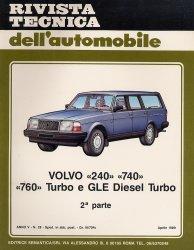 VOLVO 240 740 760 TURBO E GLE DIESEL TURBO 2A PARTE