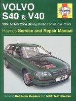 VOLVO S40 & V40 1996 TO MAR 2004 (N REGISTRATION ONWARDS) PETROL (3569)
