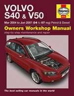 VOLVO S40 & V50 MAR 2004 TO JUN 2007 (4371)