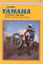 YAMAHA XT125-250, 1980-1984