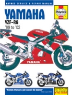 YAMAHA YZF-R6 '99 TO '02 (3900)