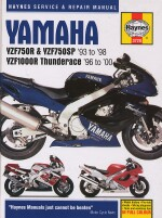 YAMAHA YZF750R & YZF750SP '93 TO '98, YZF1000R THUNDERACE '96 TO '00 (3720)